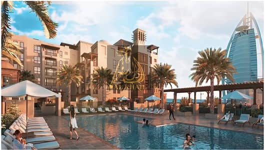 4 Bedroom Apartment for Sale in Umm Suqeim, Dubai - NEXT TO BURJ AL ARAB THE ONLY FREEHOLD 4BR