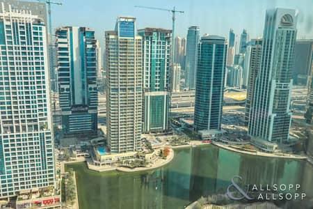 فلیٹ 2 غرفة نوم للايجار في أبراج بحيرات الجميرا، دبي - 2-Bed | Upgraded Bathroom | Unfurnished