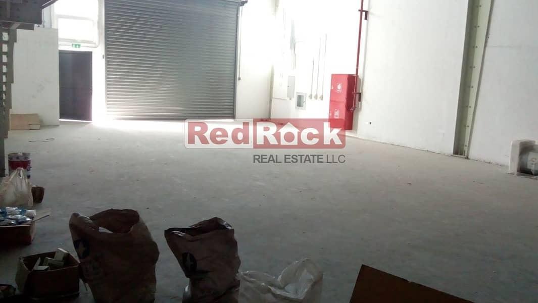 2 Aed 21/Sqft for 3018 Sqft Warehouse with Mezzanine in Jebel Ali