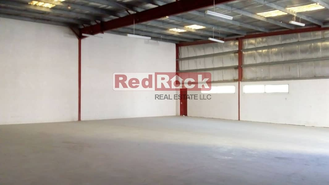2 You Read it Right 6 Cheques for 3000 Sqft Warehouse in Jebel Ali
