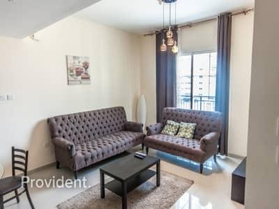فلیٹ 1 غرفة نوم للايجار في مثلث قرية الجميرا (JVT)، دبي - Well Maintained | Community View | Vacant Now