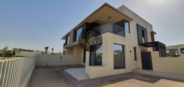 5 Bedroom Villa for Rent in Dubai Hills Estate, Dubai - Gorgeous 5 BR + Maid | Near Pool and Garden | Single Row Type 3E