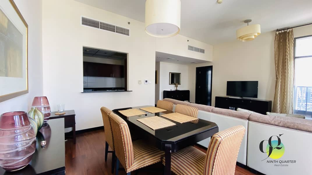 2  Beautifully Furnished 1bed