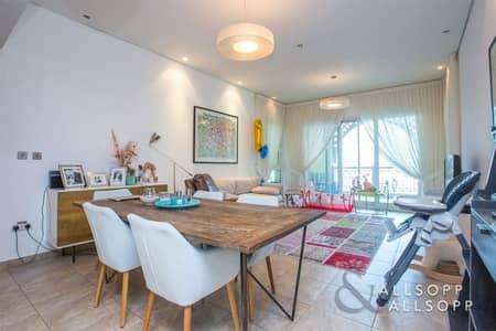 فلیٹ 3 غرف نوم للبيع في نخلة جميرا، دبي - Extended Balcony | Sunset View