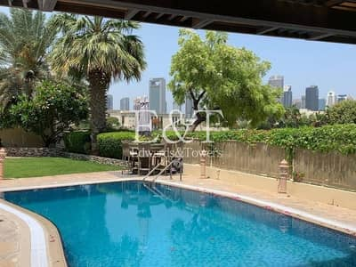 5 Bedroom Villa for Rent in The Meadows, Dubai - Skyline & Lake View| Private Pool | Type 7 | EH