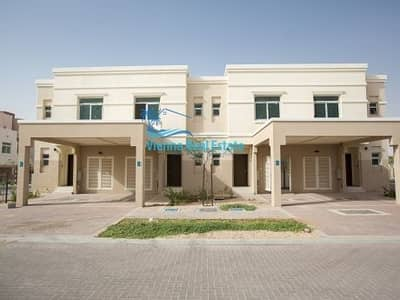 2 Bedroom Townhouse for Rent in Al Ghadeer, Abu Dhabi - Move-In Vacant Single Row 2BR Villa in waterfall