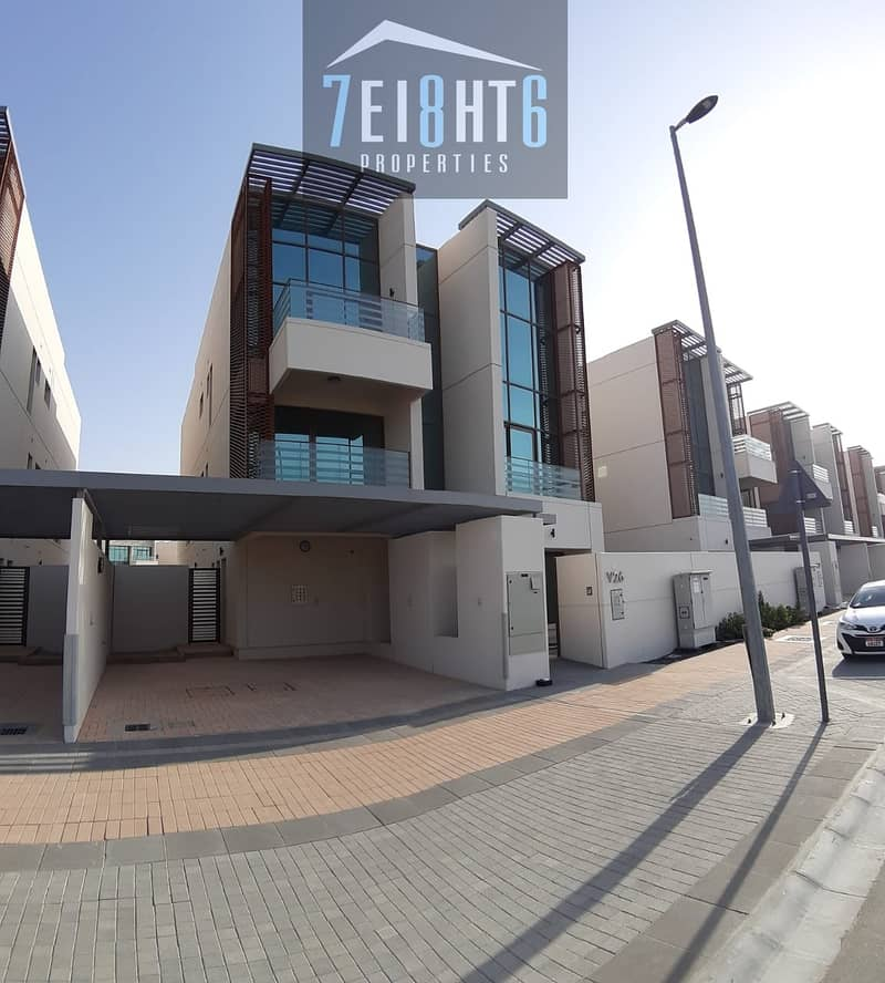 Excellent quality: BRAND NEW 6 br indep villa + maids room + drivers room + LIFT + garden