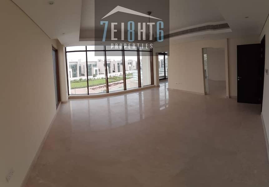 2 Excellent quality: BRAND NEW 6 br indep villa + maids room + drivers room + LIFT + garden