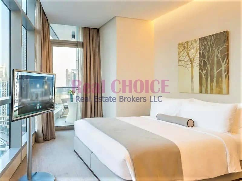 2 Fully Furnished Studio Hotel Apartment|JBR View