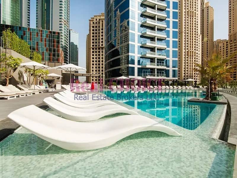 10 Fully Furnished Studio Hotel Apartment|JBR View