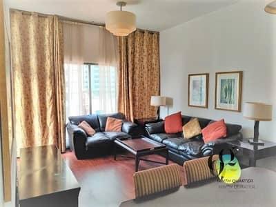 شقة 2 غرفة نوم للايجار في أبراج بحيرات الجميرا، دبي - Beautifully Furnished 2beds+M