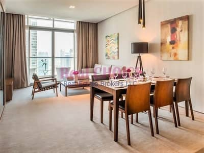2 Bedroom Hotel Apartment for Rent in Dubai Marina, Dubai - Amazing JBR View|Furnished 2BR Hotel Apartment
