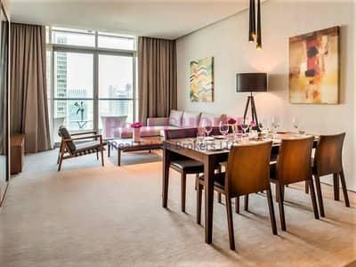 شقة فندقية 3 غرف نوم للايجار في دبي مارينا، دبي - Stunning Views of Marina|3BR + M Hotel Apartment