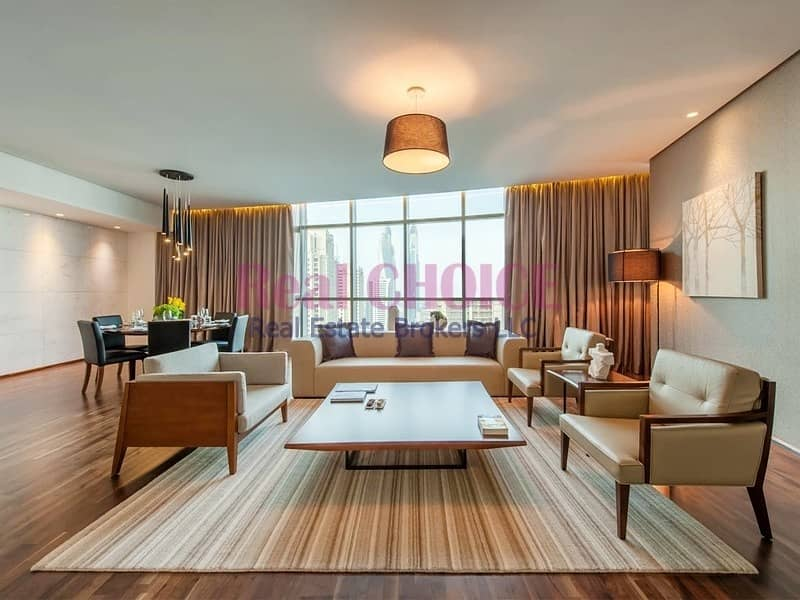 Spacious and Beautiful 4BR + M Penthouse|Furnished