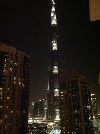 شقة 1 غرفة نوم للايجار في وسط مدينة دبي، دبي - One bedroom apartment for rent   Burj khalifa view