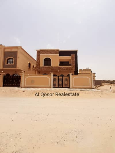 5 Bedroom Villa for Sale in Al Helio, Ajman - Villa for sale in Ajman, Al Hilo area, two floors, at an attractive price, with the possibility of bank financing