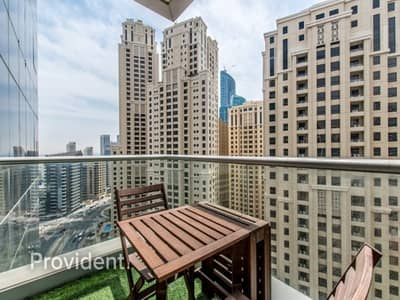 1 Bedroom Apartment for Sale in Dubai Marina, Dubai - Stunning View of Marina | Extra large unit