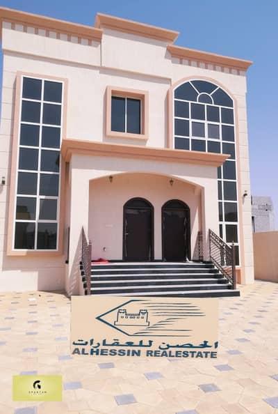 5 Bedroom Villa for Rent in Al Raqaib, Ajman - LUXURY VILLA - 5 MASTER BEDROOM HALL MAJLIS MAIDROOM KITCHEN - MAIN ROAD