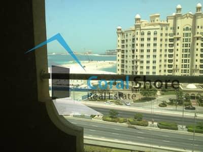 فلیٹ 2 غرفة نوم للايجار في نخلة جميرا، دبي - شقة في التمر شقق شور لاين نخلة جميرا 2 غرف 95000 درهم - 4622273