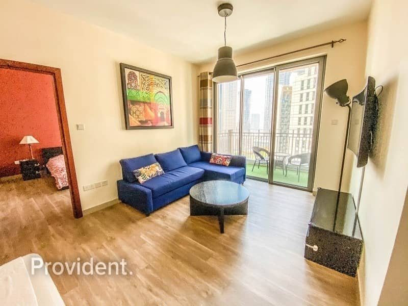 2 Vacant with Study room|Alluring Burj Khalifa View