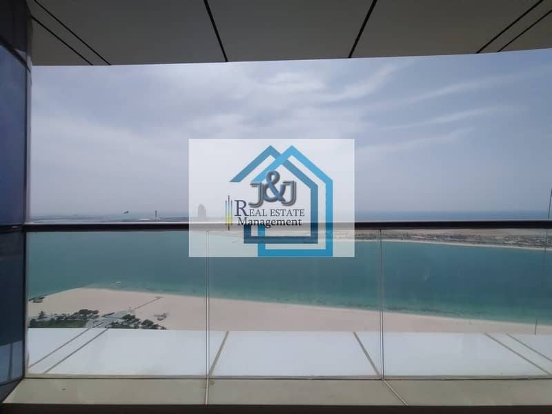 2 Stylish 5 Bedroom with maid room and Study room Full Sea view Apartment very big balcony Corniche Area
