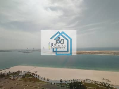 شقة 5 غرف نوم للايجار في منطقة الكورنيش، أبوظبي - Stylish 5 Bedroom with maid room and Study room Full Sea view Apartment very big balcony Corniche Area