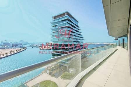3 Bedroom Flat for Sale in Al Raha Beach, Abu Dhabi - LARGE BALCONY!!! HIGH FLOOR!! 3B+MAID!  AMAZING SEA VIEW
