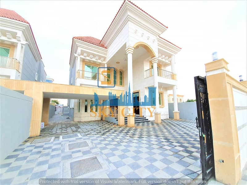 Super delux finished villa Excellent finishing  At an attractive price  Opposite a mosque  From the owner directly