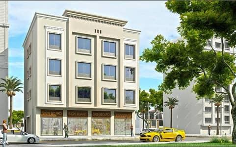 مبنى سكني  للبيع في مدينة محمد بن زايد، أبوظبي - للبيع بناية تجارية ارضى وثلاث طوابق بمدينة محمد بن زايد