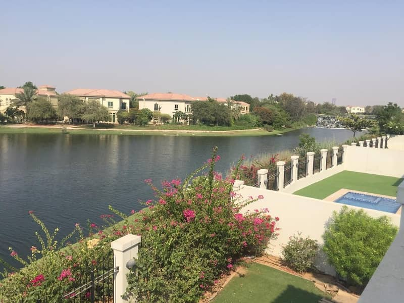 13 Months Contract 5 Bedroom District 2 Landscaped with  Pool Lake View