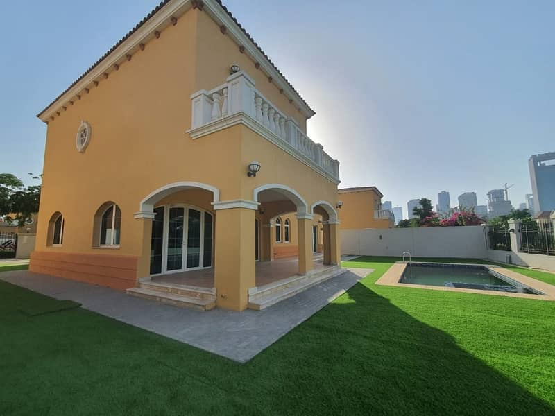 2 13 Months Contract 5 Bedroom District 2 Landscaped with  Pool Lake View