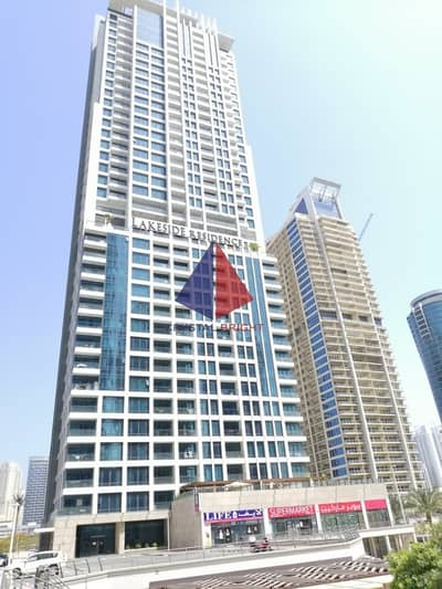 1 Bedroom Apartment for Rent in Jumeirah Lake Towers (JLT), Dubai - LAKESIDE |1 BHK | HIGH FLOOR  WITH BALCONY
