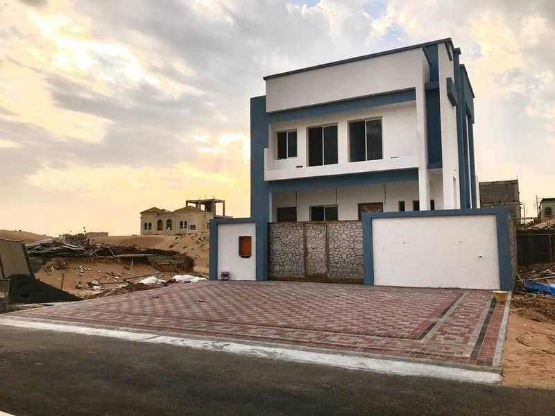 Villa for sale in Ajman freehold for all nationalities central air conditioner
