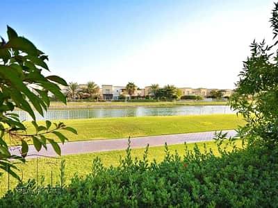 فیلا 3 غرف نوم للايجار في الينابيع، دبي - 1E with Lake View and Landscaped Garden