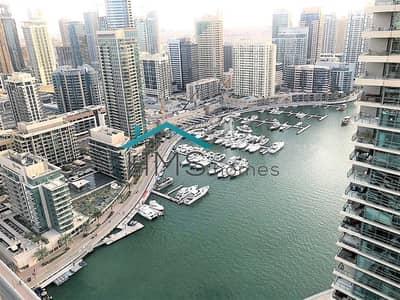 فلیٹ 1 غرفة نوم للبيع في دبي مارينا، دبي - Exclusive   Amazing Marina View   High Floor