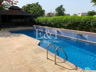 5 Bedroom Villa for Rent in The Meadows, Dubai - Luxury | Lake View|Private Pool|5 Bed| Vacant June