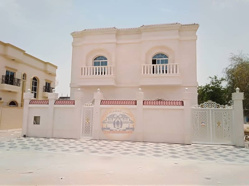 Villa front stone in Al Helio 2 for sale with easy banking installments