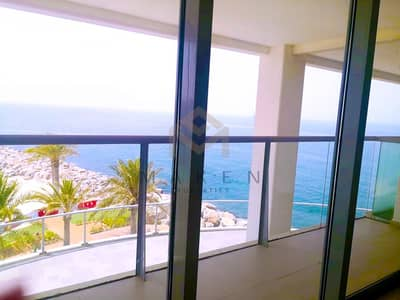 2 Bedroom Flat for Rent in Al Marjan Island, Ras Al Khaimah - 2BK Stunning Sea View Duplex Pacific
