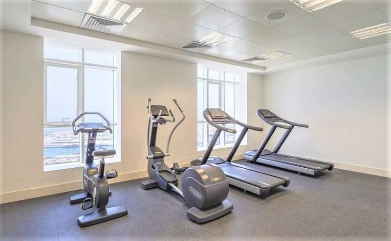 18 2BR+Maids+Loundry-Meena Tower 95k Parking Gym & Pool