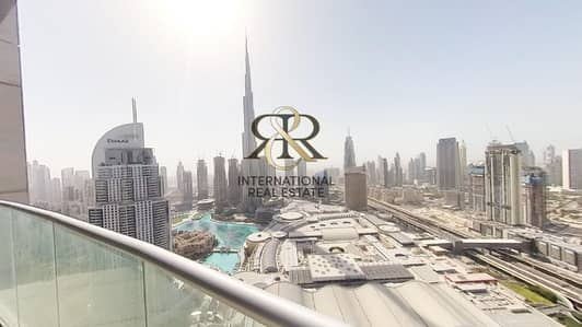 2 Bedroom Flat for Rent in Downtown Dubai, Dubai - With 360 Video Tour | Burj Khalifa View | Fully Furnished 2 Bedrooms