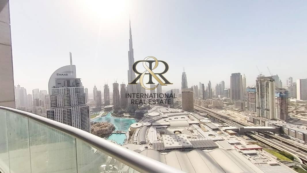 With 360 Video Tour   Burj Khalifa View   Fully Furnished 2 Bedrooms