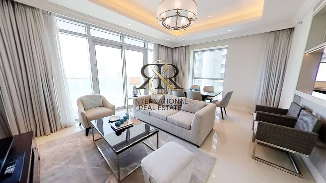 2 With 360 Video Tour   Burj Khalifa View   Fully Furnished 2 Bedrooms
