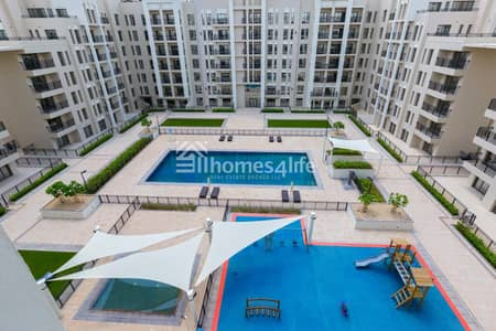 2 Bedroom Apartment for Rent in Town Square, Dubai - Excellent Layout With Pool View | Ready To Move In