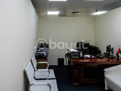 Office for Rent in Bur Dubai, Dubai - GOOD OFFER AWAITS YOU!! START YOUR BUSINESS NOW WITH OUR BRAND NEW OFFICES WITH FREE UTILITIES! EASY ACCESS TO METRO!!  BOOK NOW!