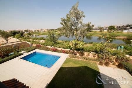 فیلا 5 غرف نوم للايجار في عقارات جميرا للجولف، دبي - Large Plot | 5 Bedroom | Golf And Lake View