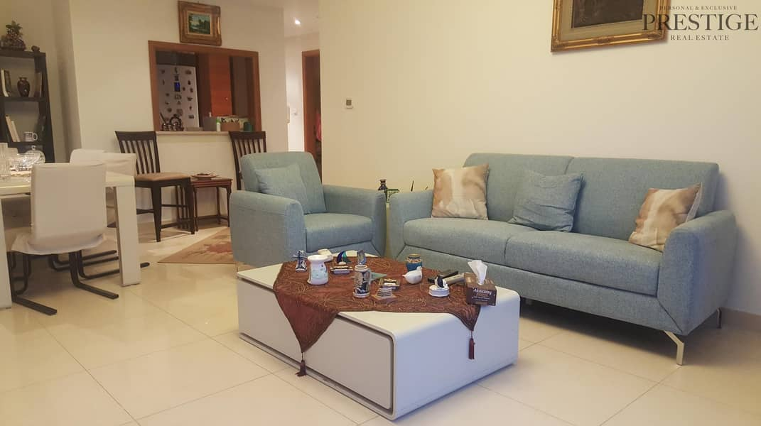 Beautifully Furnished 1bed for Rent in Saba Tower JLT