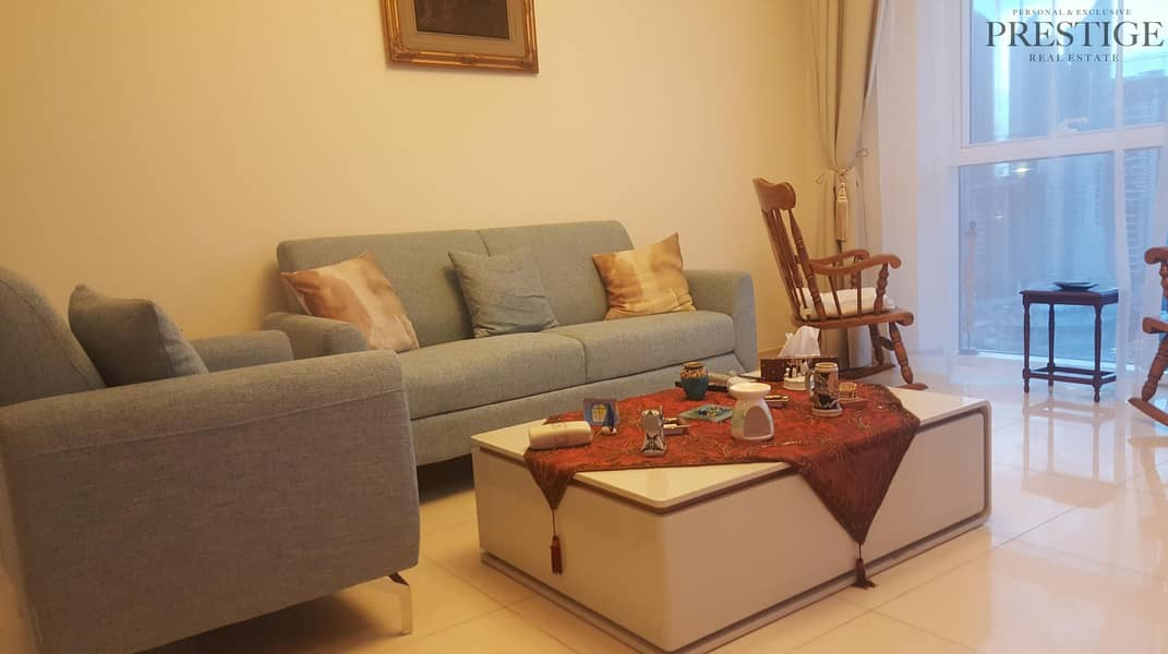 2 Beautifully Furnished 1bed for Rent in Saba Tower JLT