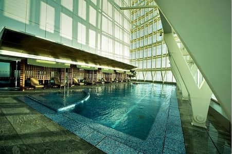 شقة 3 غرف نوم للايجار في شارع الكورنيش، أبوظبي - Luxury Full Sea View 3 BR Corniche