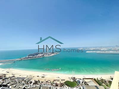 4 Bedroom Penthouse for Sale in Jumeirah Beach Residence (JBR), Dubai - Amazing Sea Views | Vacant | Duplex
