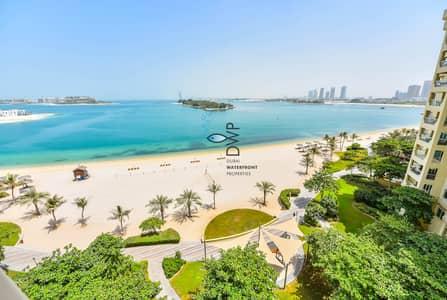 شقة 3 غرف نوم للايجار في نخلة جميرا، دبي - Pool & Sea View | A-TYPE | Beach Inclusive | Luxurious 3BR + Maids room | Free Chiller